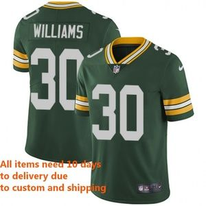 Other - Green Bay Packers Jamaal Williams Green Jersey